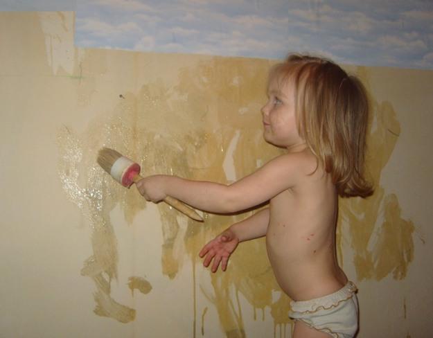 Ремонт и дети. Делаем ремонт вместе с детьми.