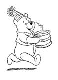 Раскраски с героями мультфильма Винни-Пух