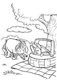 Раскраски Винни-Пух