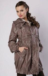 Легкая осенняя куртка для беременной