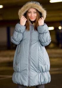 Простая куртка для беременой