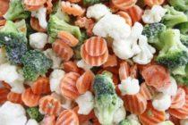 Как готовят овощные замороженные смеси?