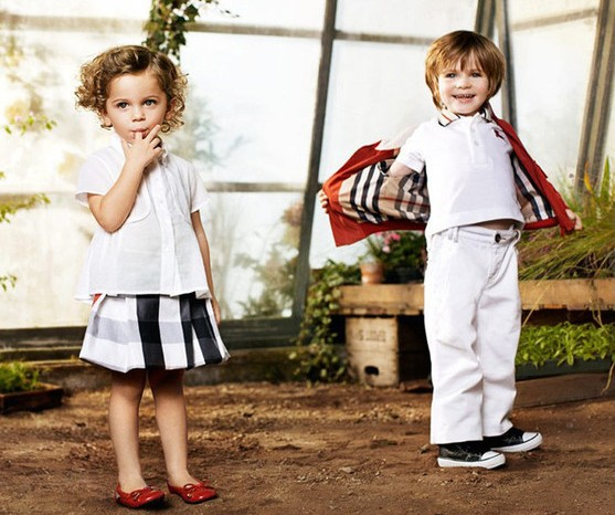 Детская одежда весной 2011