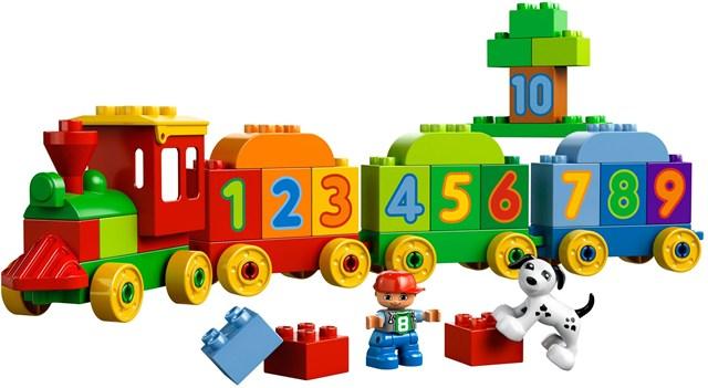 Lego Duplo - серия конструкторов для самых младших.