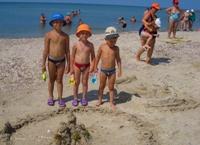 Поездка в Анапу с детьми