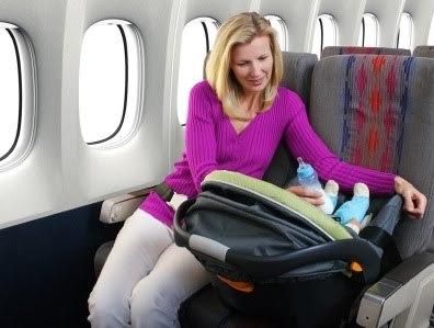 На самолете с ребенком