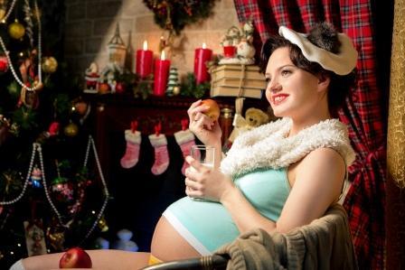 Что есть беременным на Новый Год: основные тезисы