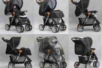 Прогулочные детские коляски