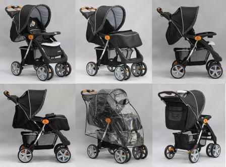 Прогулочные детские коляски подойдут для детей с шести месяцев