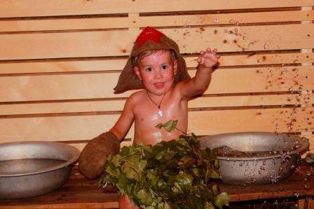 Можно ли ребенку в сауну
