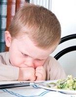 Если ребенок отказывается от еды