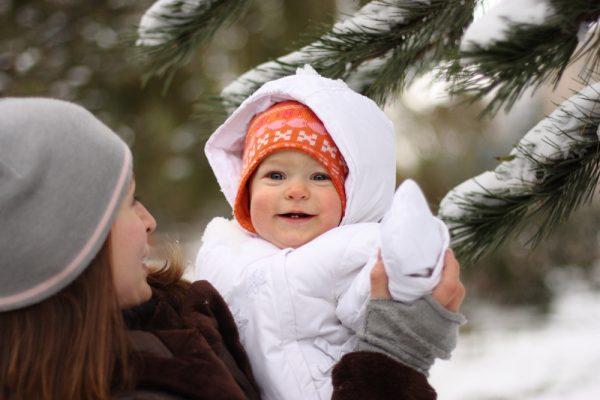 Выбор одежды для ребенка при первых морозах