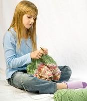 Как научить ребенка вышивать