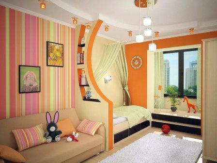 Выбираем дизайн детской комнаты.