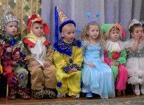 Новый Год в детском садике