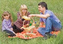 На пикник с ребенком осенью