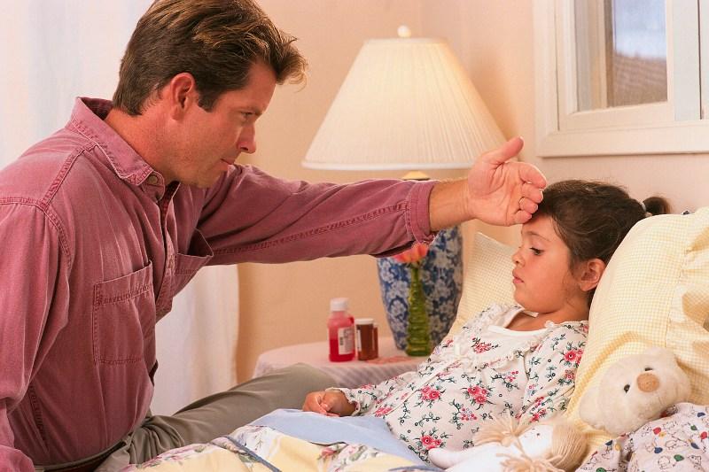Разговор с больным ребенком.