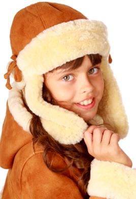 Шапка для ребенка зимняя