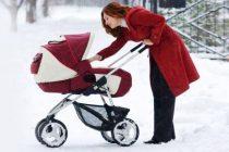 Детские зимние коляски