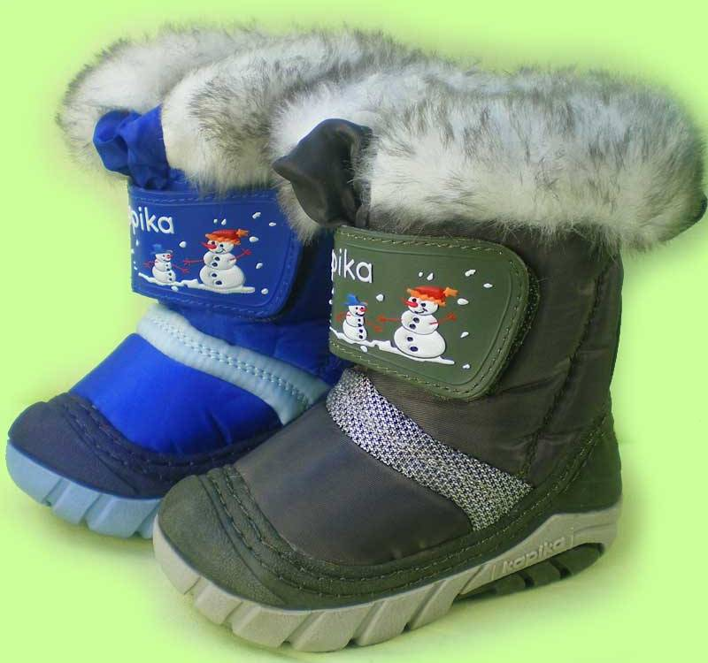 Хорошая детская обувь на зиму