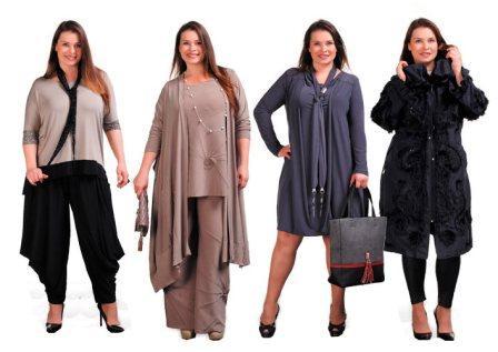 На фото примеры платьев для нестандартных женщин.