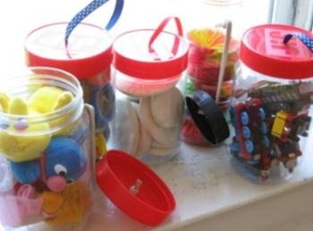 Где хранить мелкие игрушки
