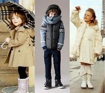 Модная детская одежда зимой 2011