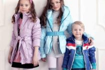 Модные зимние куртки для детей