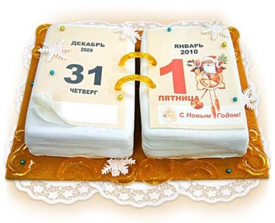 Новогодний торт для детей