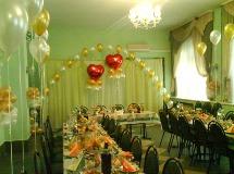 Украшения ресторана на свадьбу