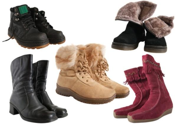 Современная женская зимняя обувь
