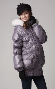 Зимняя куртка для беременной фото