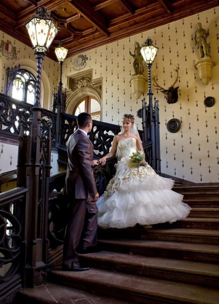 Бракосочетание в Чехии