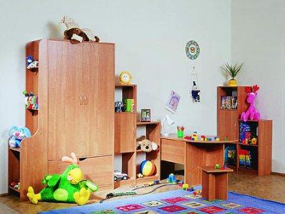 Удобный детский шкаф