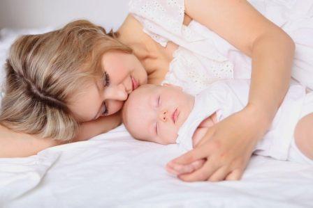 Правильная организация сна новорожденного.