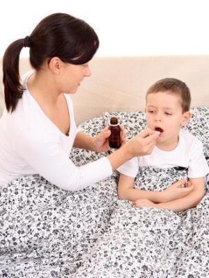 Лечение ангины у детей