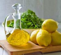 Маска из оливкового масла с лимоном