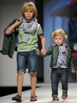 Детская весенняя одежда 2012