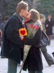 День Святого Валентина в молодой семье