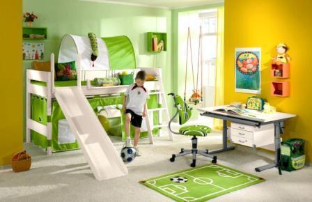 Правильная организация детской комнаты.