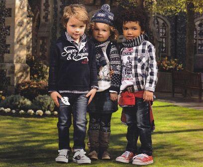 Детская одежда весной 2012
