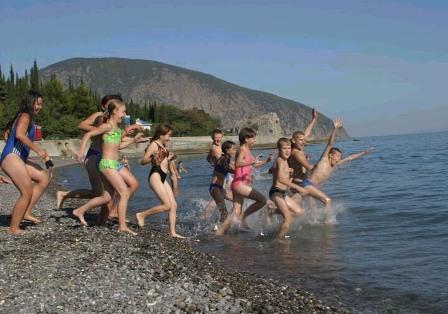 Крымские каникулы с детьми