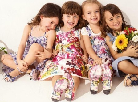 Модная детская одежда весной 2012
