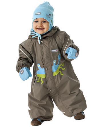 Теплая весенняя одежда для детей