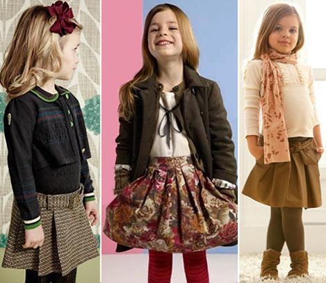 Весенняя модная одежда для девочек