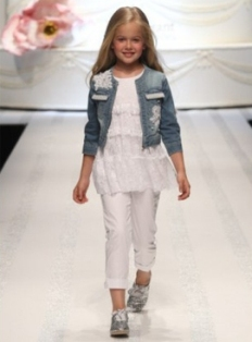 Детская мода весной 2012