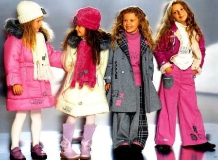 Модная весенняя одежда для детей