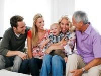 Семья после рождения малыша
