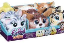Современные игрушки — интерактивные животные Hasbro