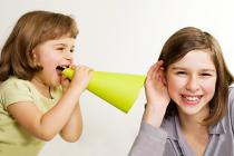 Обучения разговору, как говорят дети?